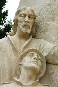 Pomník padlým vojakom - Abrahám