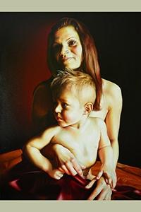 Obraz - Matka s dieťaťom