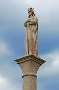 Panna Mária - Kráľovná pokoja