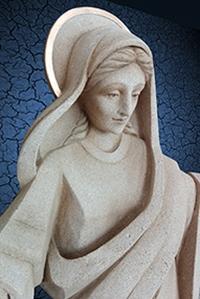 Socha Panny Márie